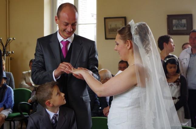 mariage mairie passage d'alliance