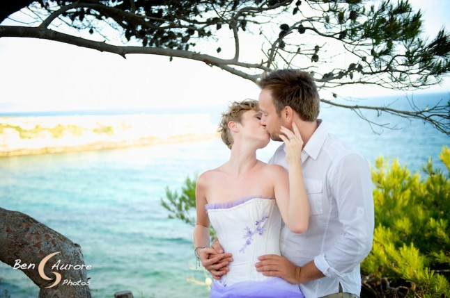 Ben et Aurore mariage d'Alex et Lisa