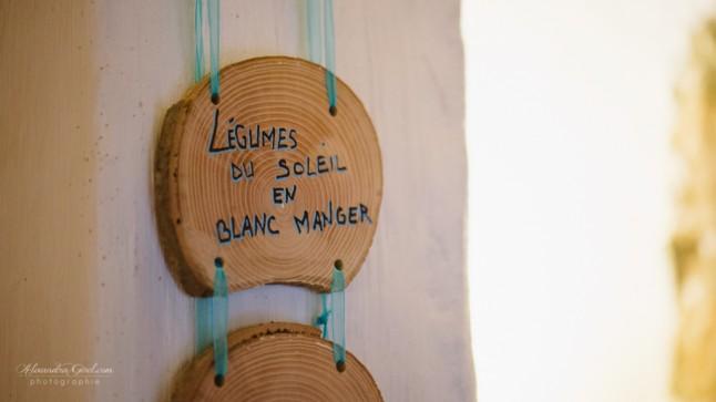 Menu bois DIY détail
