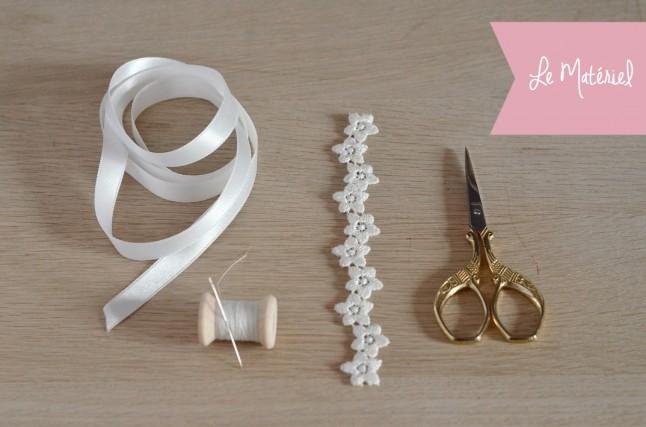 Headband DIY matériel