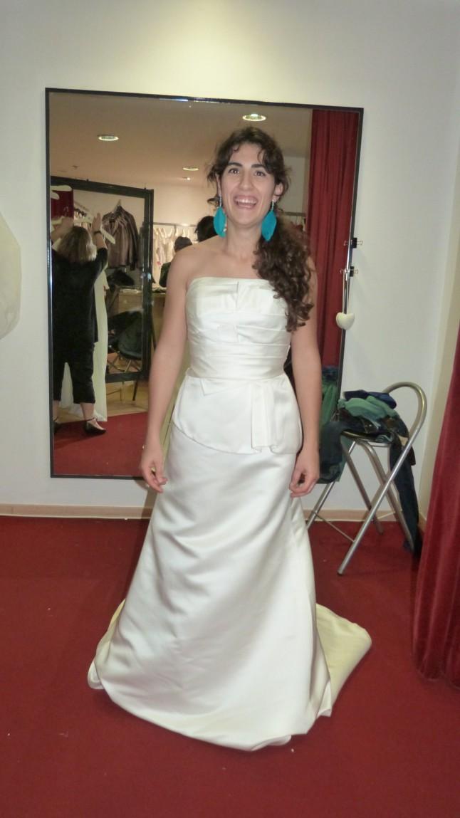 Essayage robe de mariée Pronuptia