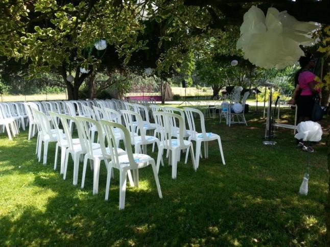 chaises cérémonie