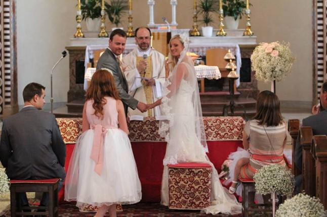 mariage à l'église Italie
