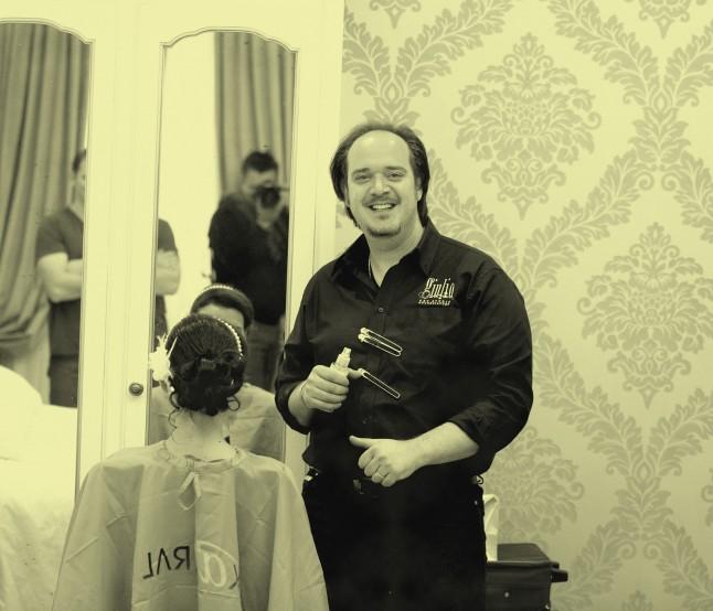 Mariage civil à Venise préparatifs coiffeur