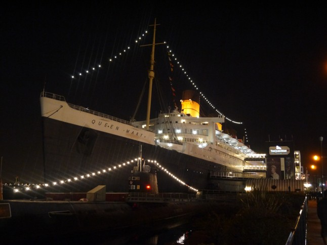 Voyage de noces Le Queen Mary