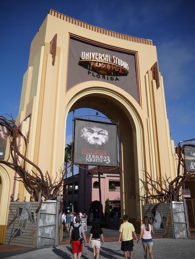 Voyage de noce thème cinéma Universal Studios
