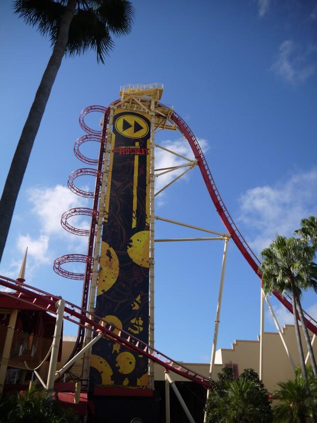 Animation parc Universal Studios voyage de noce