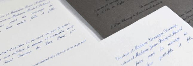 faire-part-classique-L'Art du papier