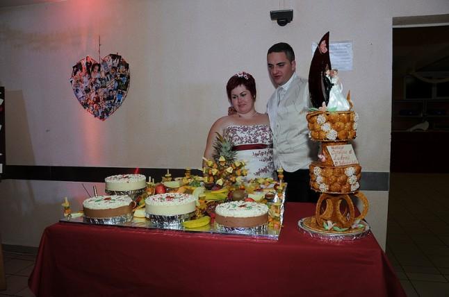gâteaux pièce montée mariage