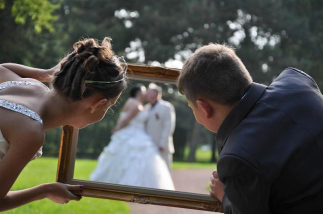 photo mariage cadre
