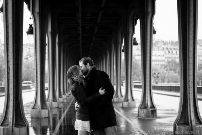 Séance d'engagement futurs mariés