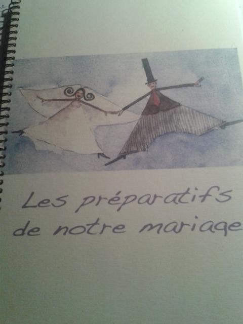 Carnet préparatifs mariée