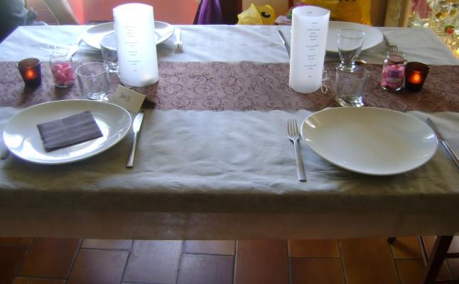 déco de table mariage test final