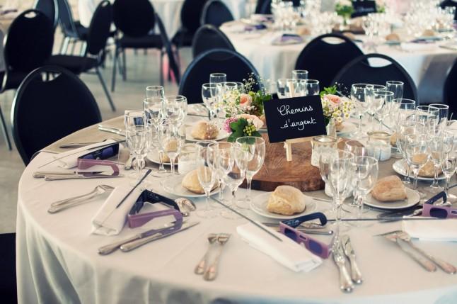 décoration table mariage champêtre romantique