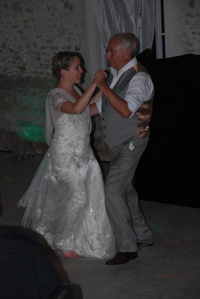 Première danse mariage champêtre romantique