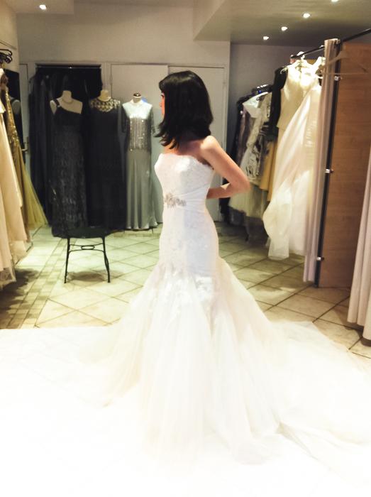 Essayages robe de mariée sans coup de coeur