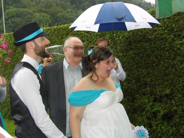Surprise de la mariée