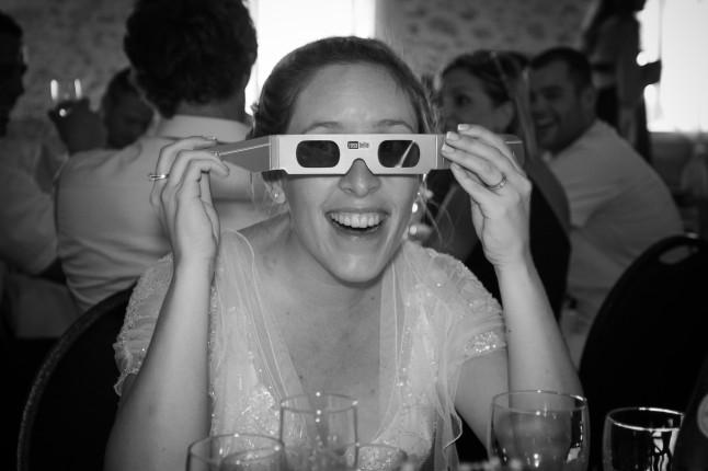 animation lunettes mariage champêtre romantique