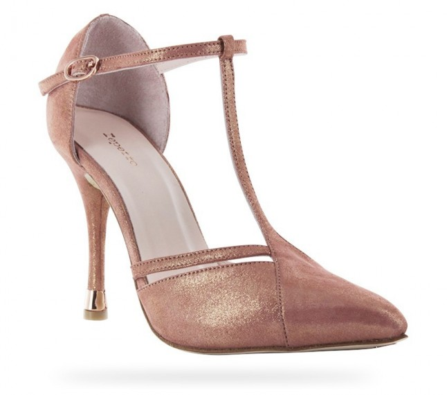 Repetto Salomé Vaya velours cristal