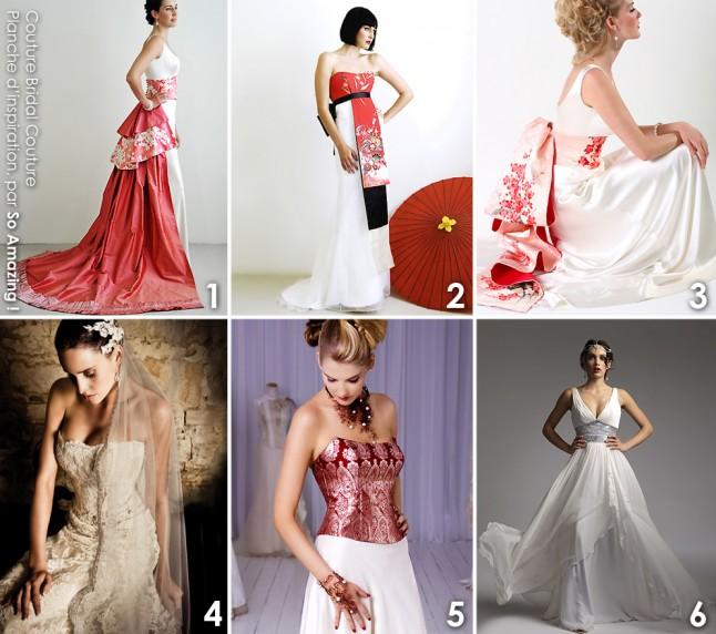 Robes de mariée ethniques