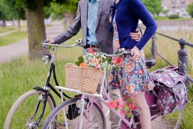 Séance d'engagement à vélo