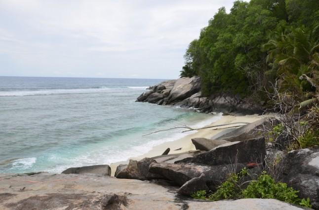 Ile aux cerfs plage voyage de noce aux Seychelles