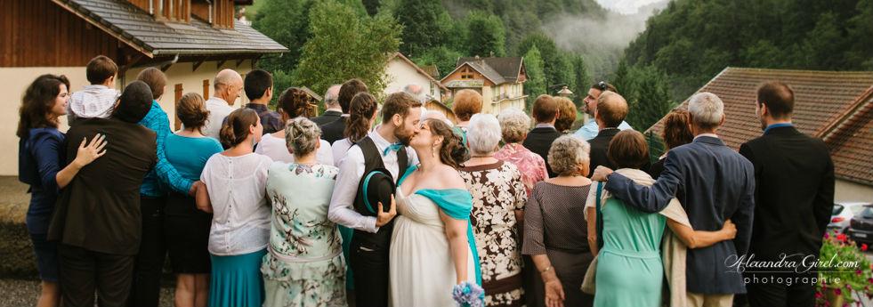 Idée de photo de groupe originale mariage