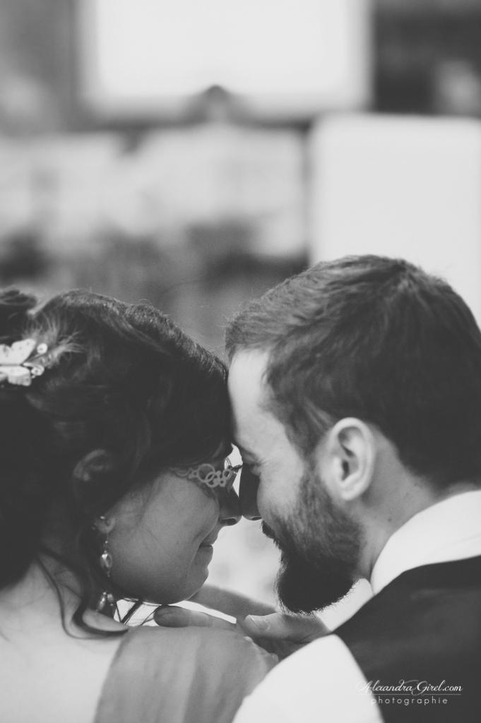 émotion mariage à l'église