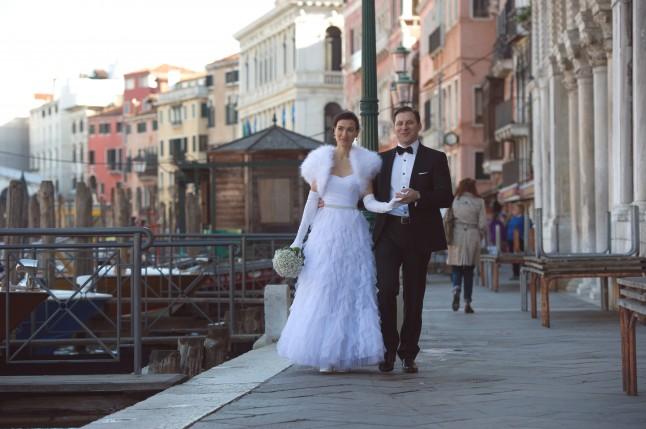séance photos couple mariage à Venise