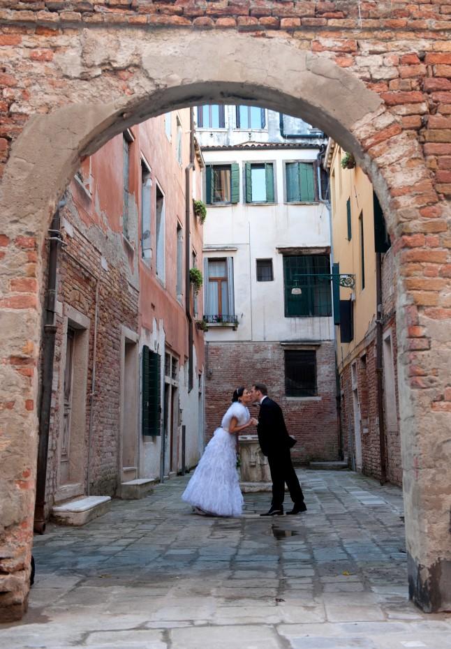 Photos de couple mariage à Venise