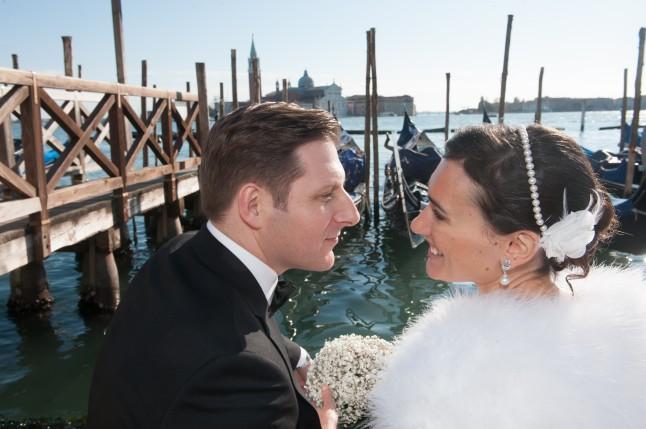 Amoureux et mariés à Venise
