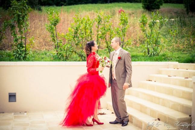 mariage en rouge découverte