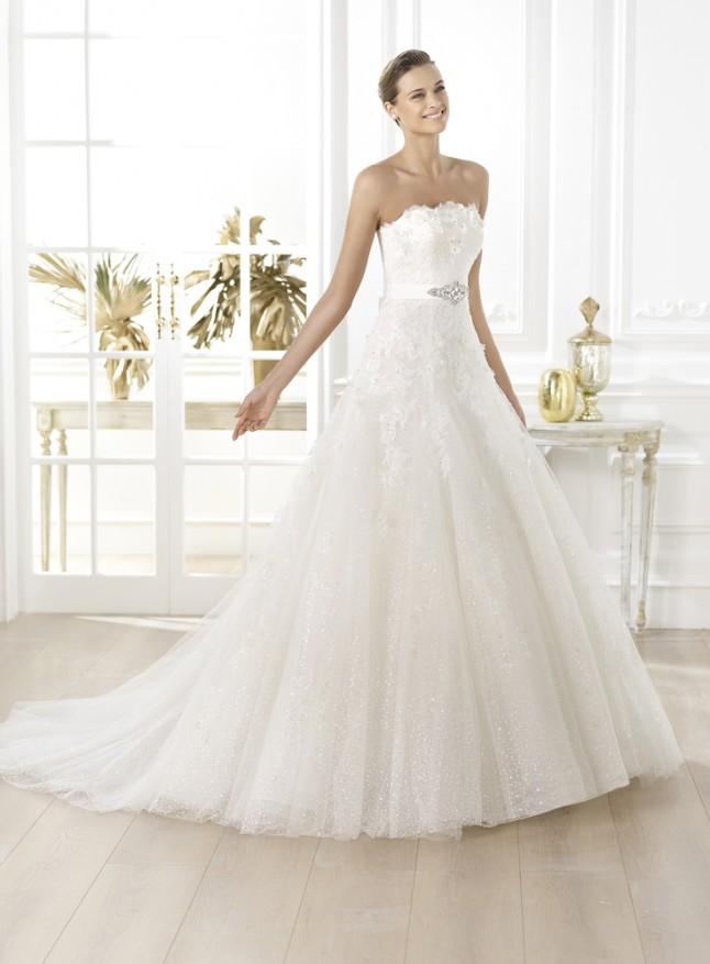 robe de mariée Pronovias