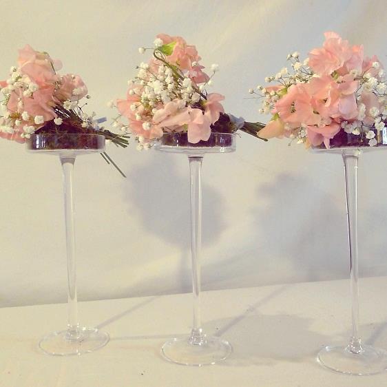 Chez Fleur déco florale mariage coupes sur pied