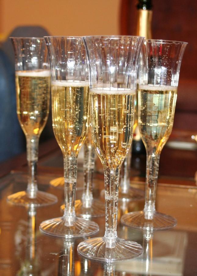Champagne demande en mariage