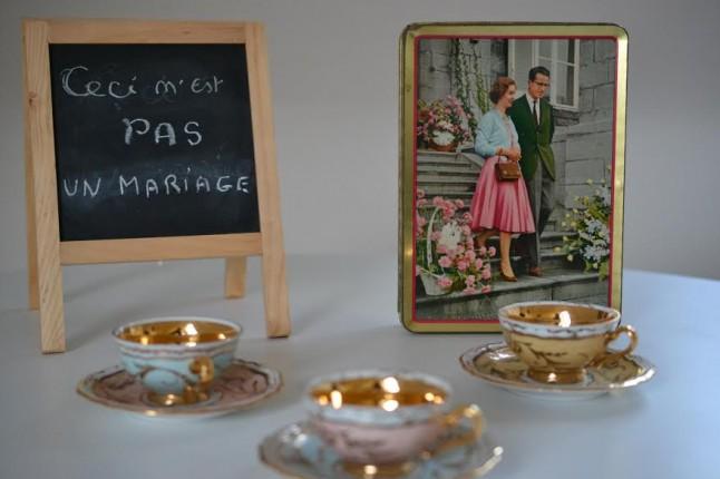 Déco mariage Belge inspiration Magritte