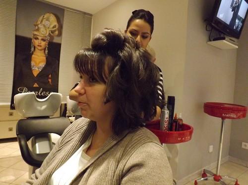 coiffure témoin