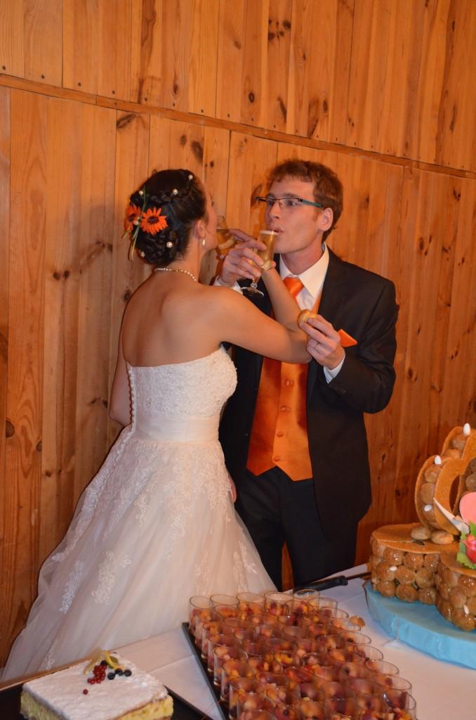 Toast des jeunes mariés