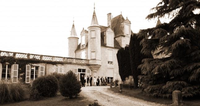 Château réception de mariage