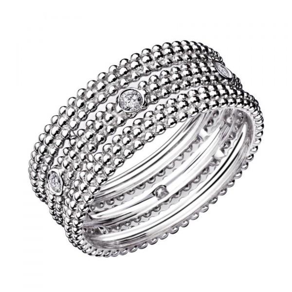 Mauboussin - Bague anneaux superposés