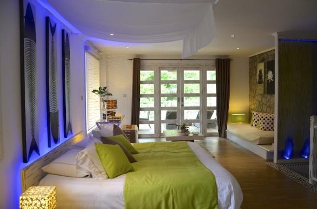 chambre d'hôtel voyage de noce aux Seychelles