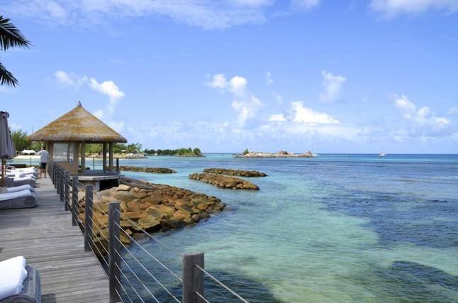 vue hôtel voyage de noce aux Seychelles