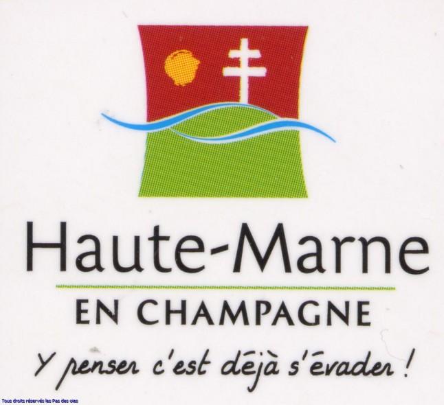 Logo et slogan Haute Marne