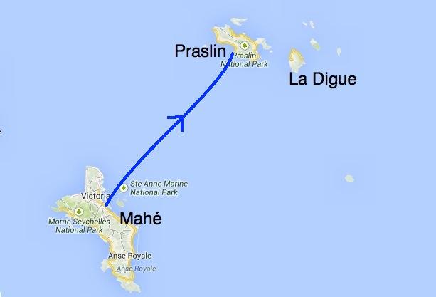 Île de Praslin Seychelles voyage de noce