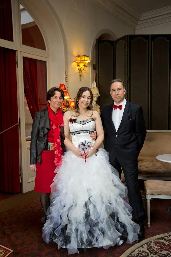Future mariée geek et ses parents