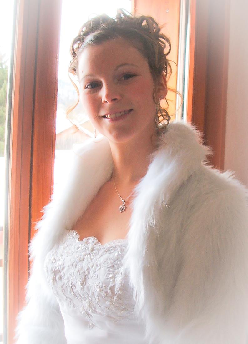 Le boléro de mon mariage enneigé