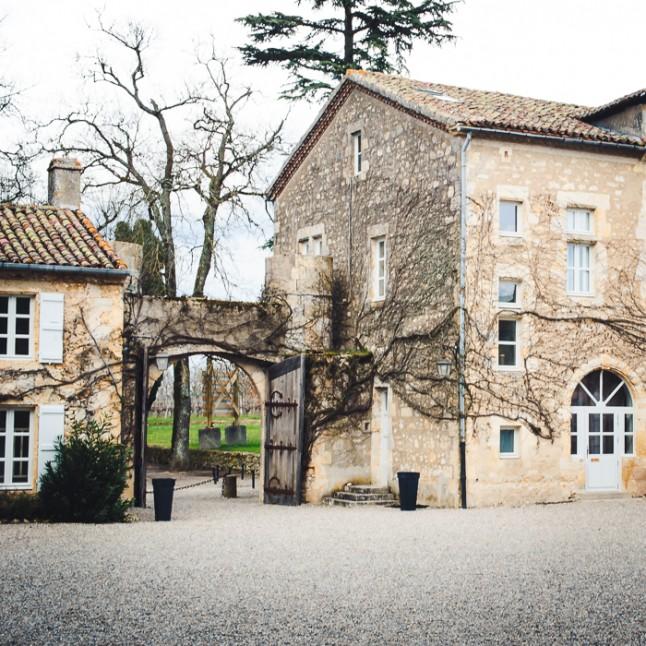 Petit château gersois réception mariage