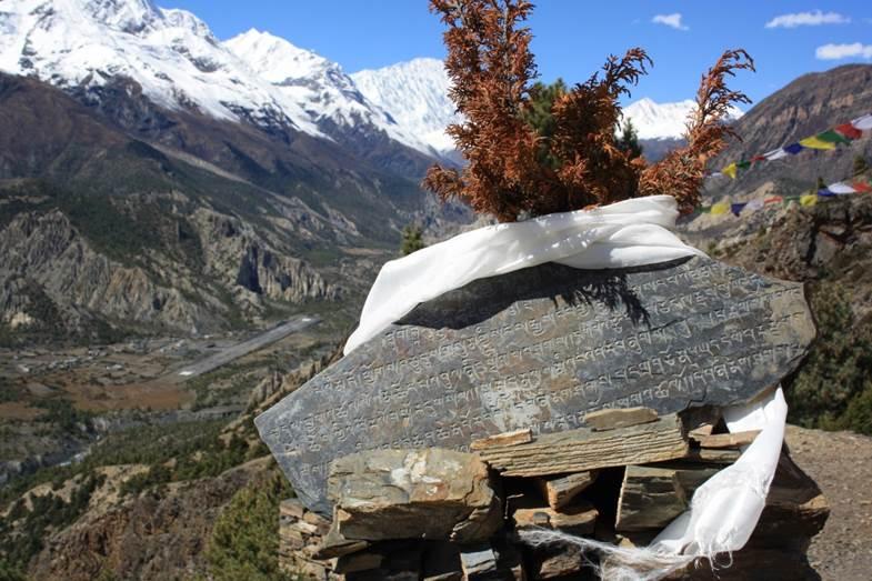 voyage de noce au Népal neige
