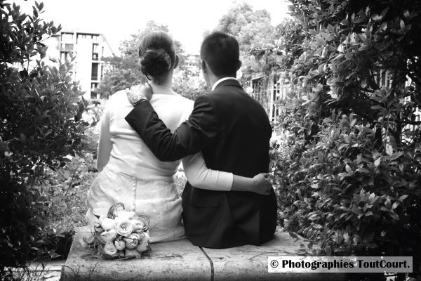 photo de couple mariage