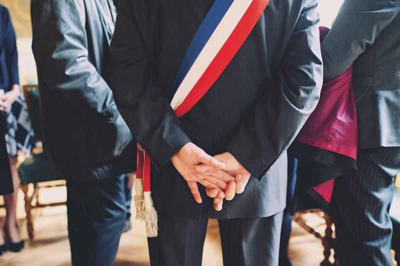 mariage à la mairie adjoint au maire